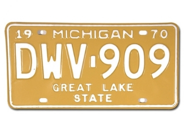 USA Licence Plate manufacturer and supplier in China