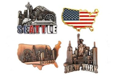 USA Souvenir Enamel Magnet manufacturer and supplier in China
