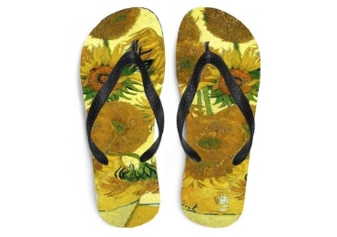 Van Gogh Souvenir Slipper manufacturer and supplier in China