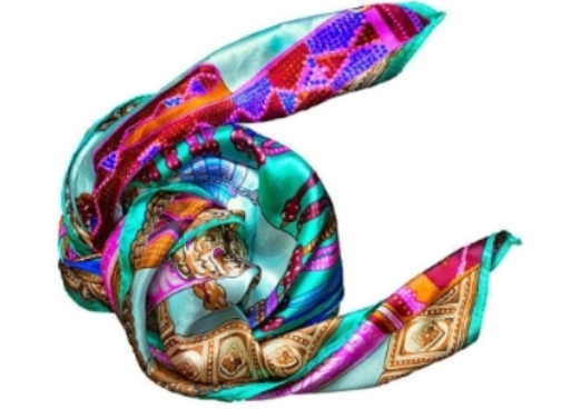 12 - Silk Scarf manufacturer and supplier in China