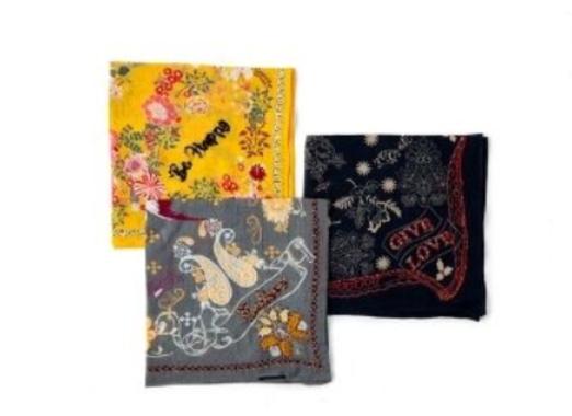 19 - Silk Bandana manufacturer and supplier in China