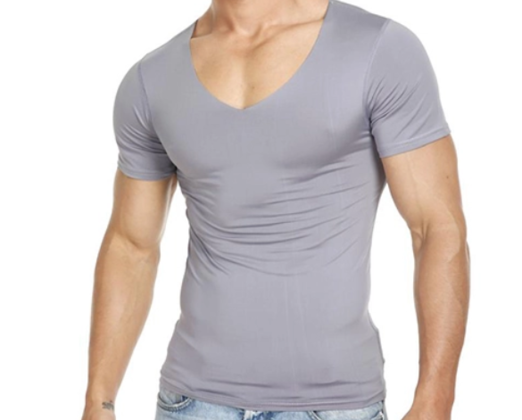 19 - Slim Fit T-Shirt manufacturer and supplier in China