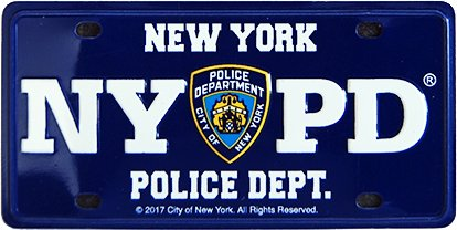 5- New York License Plate manufacturer and supplier in China