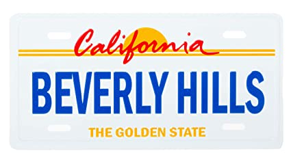 6- California Souvenir License Plate manufacturer and supplier in China