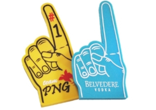 9 - Palm Printed Giant Foam Hand manufacturer and supplier in China