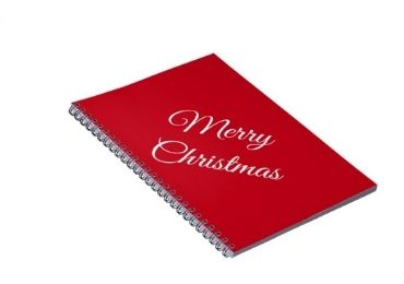 Christmas Collectible Spiral Notebook manufacturer and supplier in China