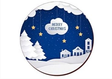 Christmas Cork Coaster manufacturer and supplier in China