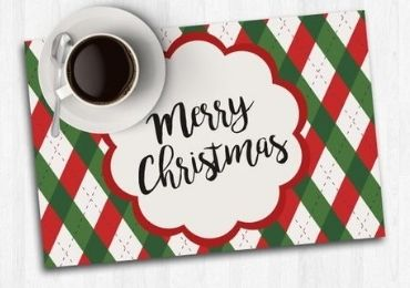Christmas Cork Table Mat manufacturer and supplier in China