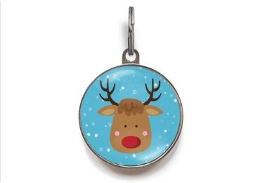 Christmas Crystal Printed Tag manufacturer and supplier in China