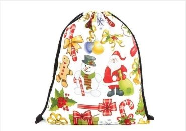Christmas Drawstring Bag manufacturer and supplier in China