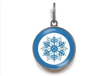 Christmas Epoxy Metal Tag manufacturer and supplier in China