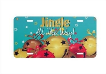 Christmas Gift License Plate manufacturer and supplier in China