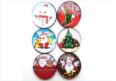 Christmas Glass Magnet manufacturer and supplier in China