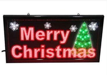 Christmas Lighting Sign manufacturer and supplier in China