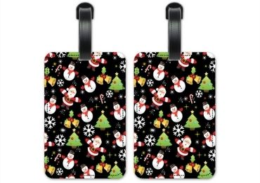 Christmas Luggage Tag manufacturer and supplier in China