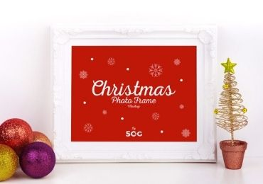 Christmas MDF Photo Frame manufacturer and supplier in China
