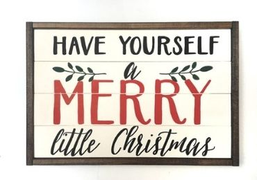 Christmas MDF Sign manufacturer and supplier in China