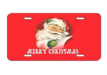 Christmas Memento License Plate manufacturer and supplier in China