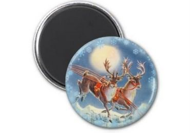 Christmas Metal Fridge Magnet manufacturer and supplier in China