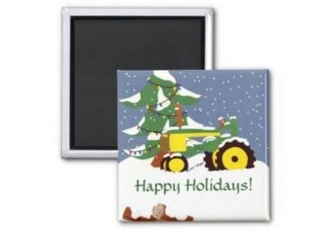 Christmas Metal Refrigerator Magnet manufacturer and supplier in China