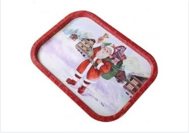 Christmas Metal Tray manufacturer and supplier in China