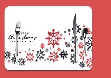 Christmas PP Table Mat manufacturer and supplier in China