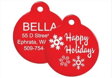 Christmas Plastic Tag manufacturer and supplier in China