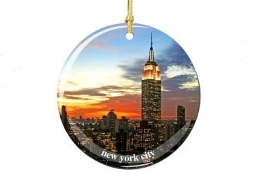 Christmas Porcelain Tag manufacturer and supplier in China
