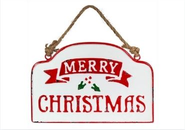 Christmas Printed Metal Sign manufacturer and supplier in China
