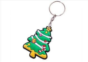 Christmas Silicone Keychain manufacturer and supplier in China