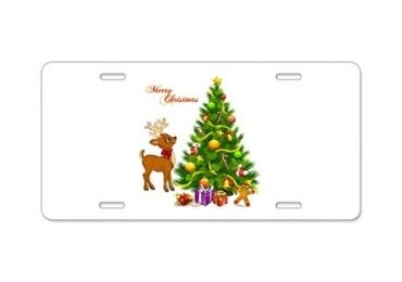 Christmas Souvenir License Plate manufacturer and supplier in China