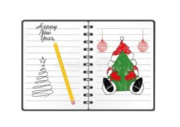 Christmas Spiral Memo manufacturer and supplier in China