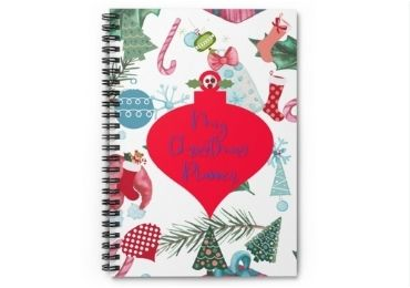 Christmas Spiral Notebook manufacturer and supplier in China