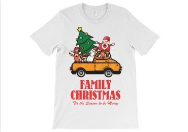 Christmas T-shirt manufacturer and supplier in China