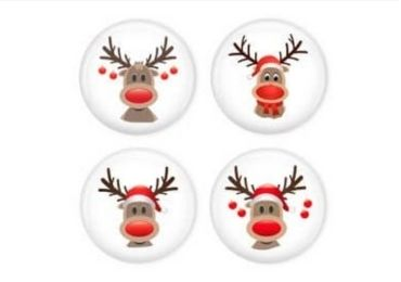 Christmas Tinplate Refrigerator Magnet manufacturer and supplier in China
