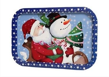 Christmas Tinplate Tray manufacturer and supplier in China