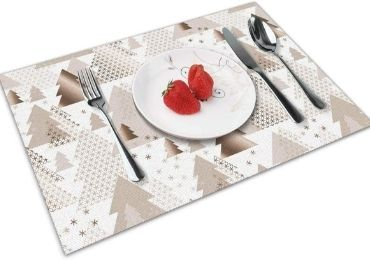 Christmas Vinyl Placemat manufacturer and supplier in China