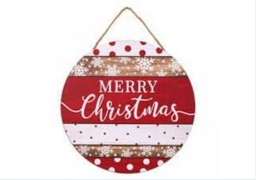 Christmas Wood Sign manufacturer and supplier in China