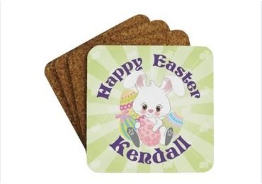 Easter Day Cork Coaster manufacturer and supplier in China