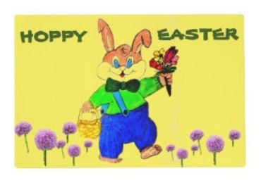 Easter Day Placemat manufacturer and supplier in China