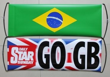 England Sports Fan Banner manufacturer and supplier in China
