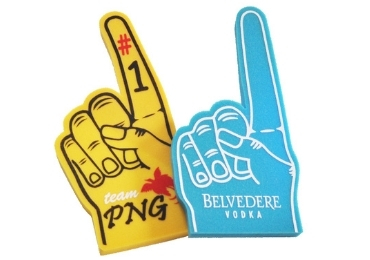 European Sports Foam Fingers manufacturer and supplier in China