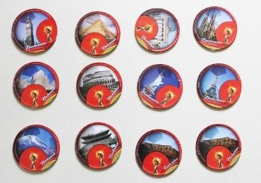 FIFA Sports Collectible Coaster manufacturer and supplier in China