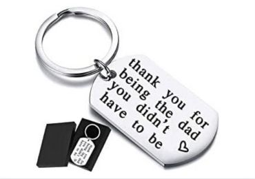 Father Gift Metal Keyring manufacturer and supplier in China