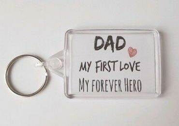 Father's Day Acrylic Keychain manufacturer and supplier in China