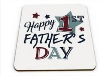 Father's Day Cork Coaster manufacturer and supplier in China