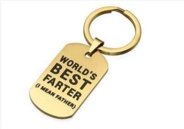 Father's Day Keychain manufacturer and supplier in China