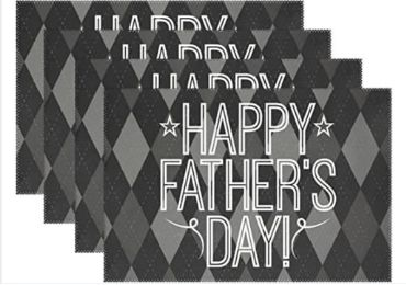 Father's Day Placemat manufacturer and supplier in China