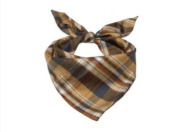 Father's Day Cotton Scarf manufacturer and supplier in China