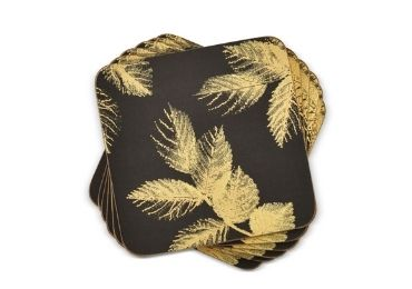 Gilding MDF Coaster manufacturer and supplier in China
